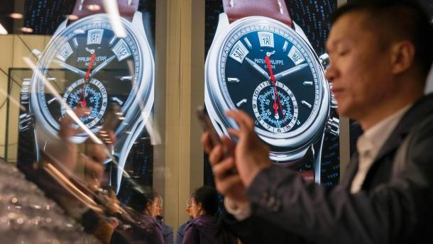 Eine Uhr für Donald Trump