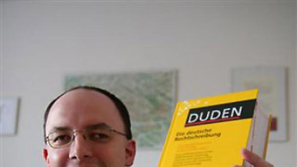 Mister Duden aus Regensburg