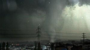 Mehr Tornados in Deutschland erwartet
