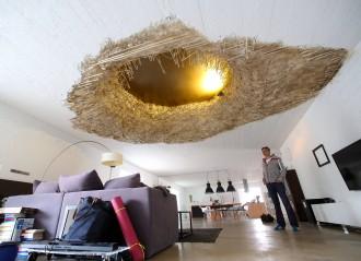 Wohnen im bunker for Wohnzimmer 20 grad