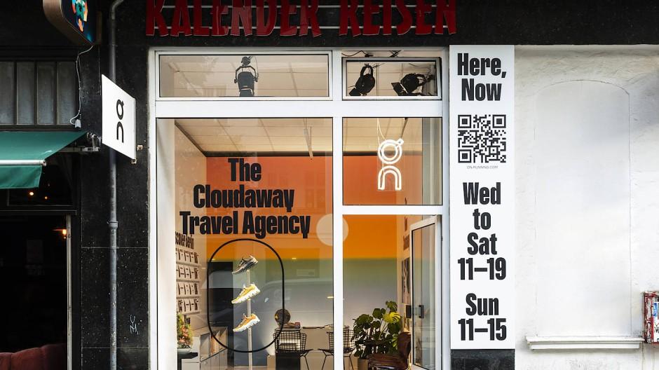 Eingemietet in einem richtigen Reisebüro: Der Pop-Up-Store ist nur für vier Tage in Neukölln zu finden.