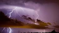 Schwere Gewitter über Teilen Deutschlands erwartet