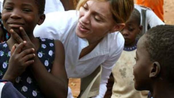 Madonna - mit David gegen Goliath