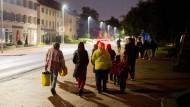 14.000 Menschen mussten über Nacht ihre Häuser verlassen
