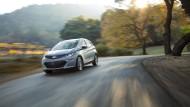 Elektrisiert mit Reichweite: 320 Kilometer soll der Chevrolet Bolt schaffen.