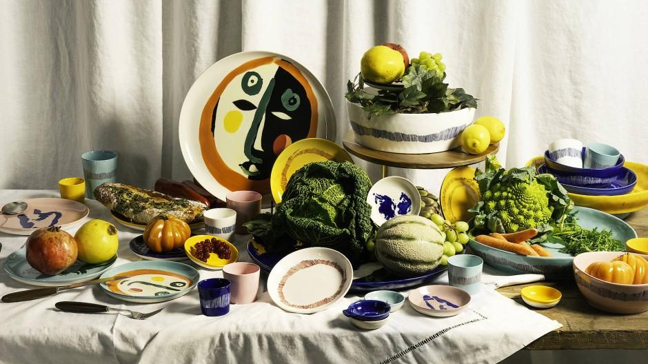 Bunt wie die Früchte darauf: Die Geschirrkollektion von Ottolenghi