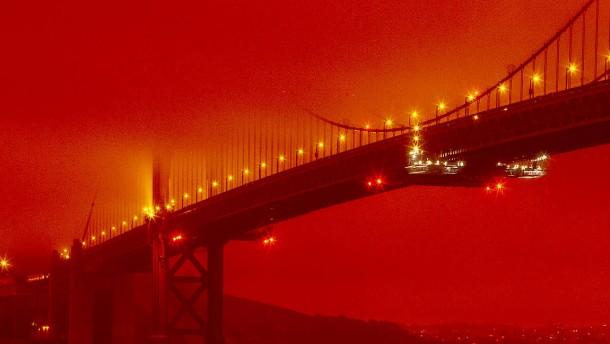 Waldbrand verursacht Tag ohne Sonne für San Francisco