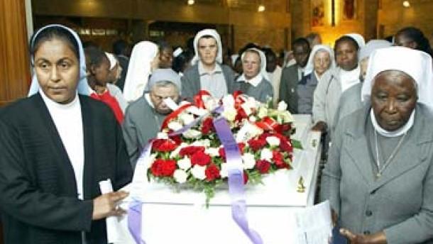 Tod einer Nonne