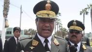 Festgenommen: Perus ehemaliger Polizeichef Raúl Becerra