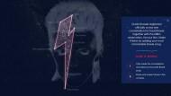 """Mehr Sternenstaub als Sternbild: Gedenk-Aktion für David Bowie des belgischen Senders """"Studio Brussel"""""""
