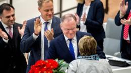 Weil abermals zum Ministerpräsidenten in Niedersachsen gewählt