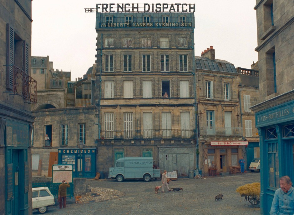 """Alles so symmetrisch: Wes Andersons' """"The French Dispatch"""""""