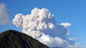 Flucht vor dem Vulkan