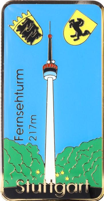 Mit 217 Metern nicht Deutschlands höchster, aber erster Fernsehturm