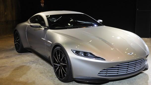 3,1 Millionen Euro für Bond-Auto