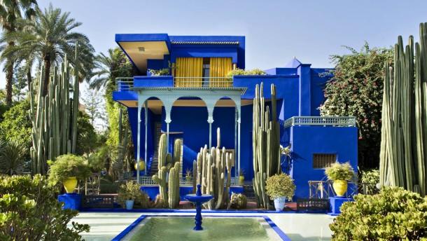 Das Paradies Liegt In Marrakesch Jardin Majorelle