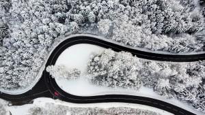 Schneeprobleme in den Alpen, Winterstimmung auf Mallorca