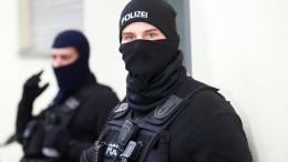 Razzia gegen Islamisten in Berlin und Sachsen-Anhalt