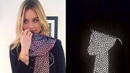 Der Anti-Paparazzi-Schal