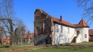 Erinnerung an den Reichsgründer: das Bismarck-Museum im Seitenflügel des zerstörten Schlosses im Gutspark in Schönhausen