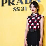 Schauspielerin Zheng Shuang bei einer Prada-Veranstaltung in Schanghai im September 2020