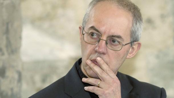 Erzbischof von Canterbury ist ein unehelicher Sohn
