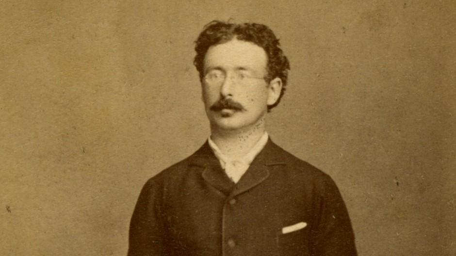 Julius Maggi als junger Mann um 1880