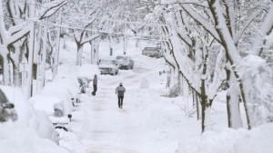 Winterchaos in weiten Teilen des Landes