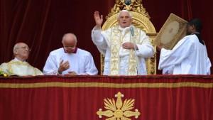 Papst ruft zu Frieden und Versöhnung im Nahen Osten auf