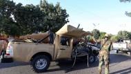 Erst vorgestern musste die Armee in Herat den Schauplatz eines Bombenattentats untersuchen. Jetzt haben Taliban in der Provinz Touristen angegriffen.
