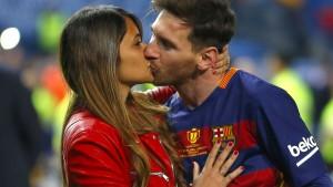 Messi heiratet unter Polizeischutz seine Jugendliebe