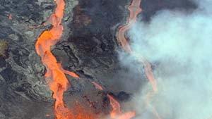 Unerwartet starker Ausbruch auf La Réunion
