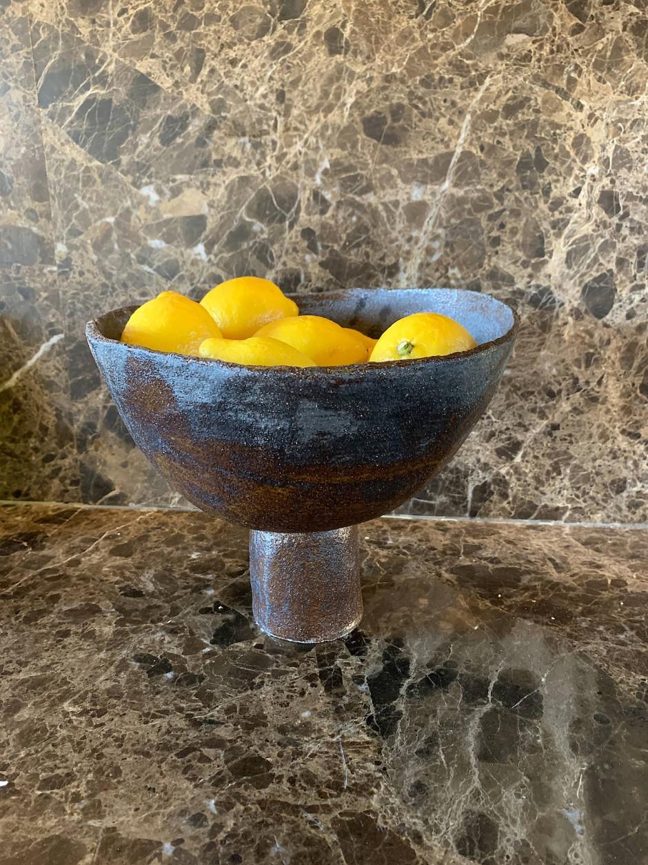 Stillleben mit Zitronen: Für manche Formen lässt sich Landwehr von Gegenständen im Baumarkt inspirieren.