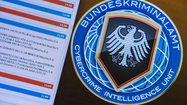 Viele Verdächtige im Darknet