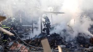 Fünf Tote bei Zug-Inferno in Bulgarien