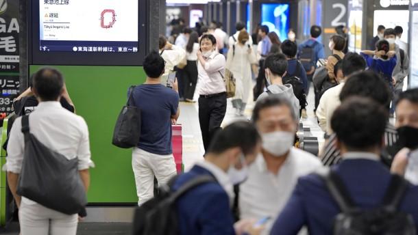 Starkes Erdbeben erschüttert Tokio