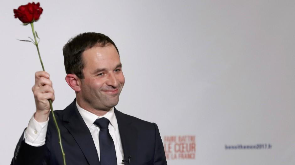 Frankreichs Sozialisten küren Außenseiter Hamon zum Kandidaten