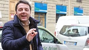 Noch kein Regierungsauftrag für Renzi