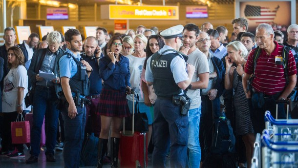 Passagierin löst Terroralarm am Frankfurter Flughafen aus