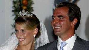Prinz Nikolaos heiratet die Schweizerin Tatiana Blatnik