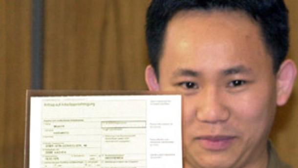 Die erste Green Card vor drei Jahren