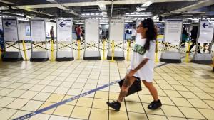 Streik legt abermals U-Bahn-Verkehr lahm