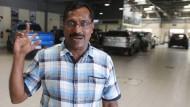 Doppelter Glückspilz: Der in Singapur lebende Inder Mohammad Basheer Abdul Khadar