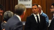 In Pretoria vor Gericht: Paralympics-Sportler Oscar Pistorius