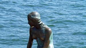 Die leidende Meerjungfrau