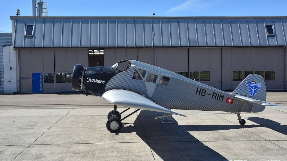 Der fertige Nachbau der Junkers F13.