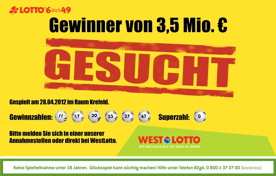 im lotto gewonnen was nun
