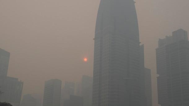 Sieben Millionen Tote pro Jahr infolge von Luftverschmutzung