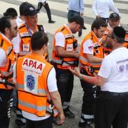 Freiwilligenhilfe, die expandiert: Rettungsassistenten aus Panama, die für eine Schulung von United Hatzalah nach Israel gereist sind.