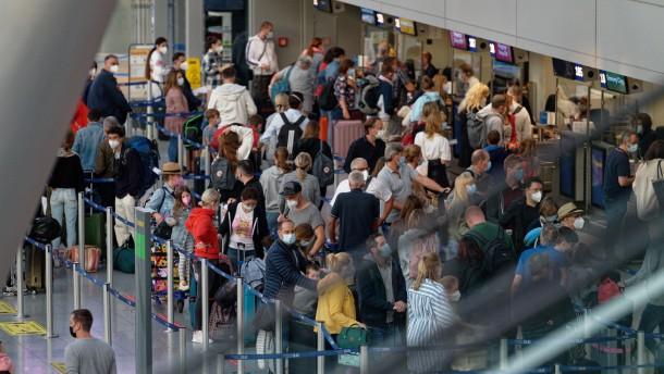 Frust am Flughafen